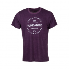 Fundango Basic T Logo 2 T-shirt,póló D (1TO10102_380-ruby)