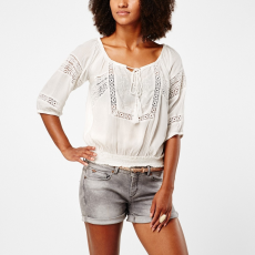 O'Neill Summer Top Hosszú ujjú póló D (O-608953-o_1030-Powder White)