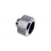 AlphaCool HT 16mm HardTube szerelés G1 / 4 plexi, rézcsövel - Chrome