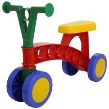 Színes, műanyag futóbicikli (piros-kék-zöld) roller