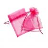 10*13 cm organza tasak pink (10 db)
