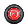 Kerék fém felnis golyóscsapágyas fúvott gumival piros 4.00-8/2PR