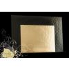 Tortaalátét 30*40 cm Black and Gold