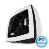 "NZXT Manta Window White/Black White/Black,2x3,5"",3x2,5"",ATX,2xUSB3.0,Audio,Táp nélkül,245x426x450mm,Window"