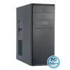 "Chieftec Elox Black Black,2x5,25"",1+belső 3x3,5"",microATX,2xUSB3.0,Audio,Táp nélkül,428x160x410mm"