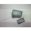 Digitális etikett 50×28mm FEKETE alap / 250 db/csomag