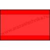 26×16mm eredeti olasz FLUO piros árazócímke / szögletes
