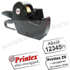 Printex Z6 egysoros árazógép / 22×12mm címke + Akció! feliratos szöveglemez