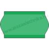22×12mm zöld árazószalag