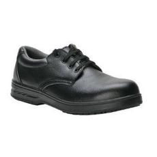 FW80 - Vízálló védőcipő, fűzős, S2 - fekete