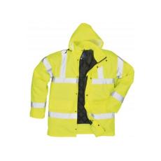 S461 - Jól láthatósági lélegző kabát - sárga