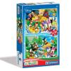 Clementoni Disney Mickey egér és barátai puzzle 2x20 - Clementoni