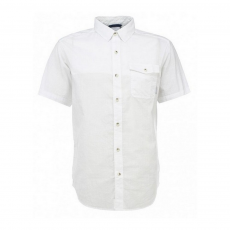 Columbia Cory Edge II Solid Short Sleeve Shirt Ing D (1581311-o_100-White)