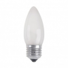 Ipari izzó CANDLE FROSTED E27/25W/230V