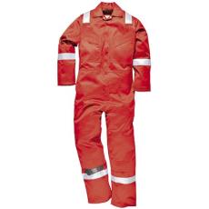 Portwest FR50 Lángálló antisztatikus overál *piros*