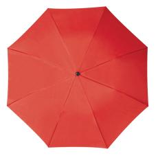 RAINBOW esernyõ, piros (RAINBOW kézi nyitású egyszeres teleszkópos összecsukható esernyõ, nylon)