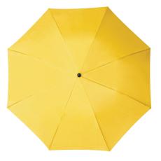 RAINBOW esernyõ, sárga (RAINBOW kézi nyitású egyszeres teleszkópos összecsukható esernyõ, nylon)