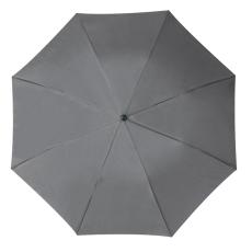 RAINBOW esernyõ, szürke (RAINBOW kézi nyitású egyszeres teleszkópos összecsukható esernyõ, nylon)