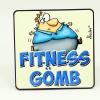 Hűtőmágnes Fitness gömb...