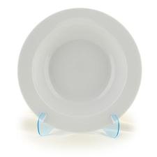 ROTBERG Mélytányér, porcelán, 26 cm átmérő, tányér és evőeszköz