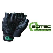 Scitec Nutrition Kesztyű Scitec - Green Style férfi fekete, zöld XL Scitec Nutrition edzőkesztyű