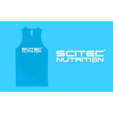 Scitec Nutrition Trikó Normal férfi kék XL Scitec Nutrition