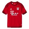 Adidas Póló Futball adidas Bayern Monachium Lewandowski Home Jersey Junior S08605