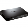 D-Link 24-Port GIGABIT EASY DESKTOP SWITCH- 24-Port Gigabit Switch- Auto MDI.MDIZ crossover for all ports- Full/half-dup GO-SW-24G/E