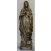 Szűz Mária-Lourdes Madonna/100cm/antik arany