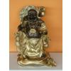 Buddha-kínai-pénzes-ernyős/bronz-arany