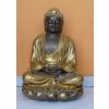 Buddha-thai-meditáló/60 cm/bronz-arany