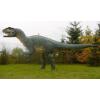 Dinoszaurusz - Allosaurus - vízszintes farkállással