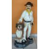Pásztor kutyával-100cm