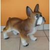 Kutya-Francia bulldog-álló/37cm/b