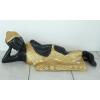 Buddha-thai-fekvő/fekete-arany