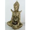 Buddha-tibeti-Csenrézi-vázával/antik arany