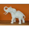 Elefánt-90 cm/fehér