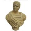 Szobor-Augustus mellszobor