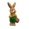 Nyúl-41 cm-húsvéti tojásokkal