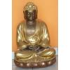 Buddha-thai-meditáló/60 cm/bronz-arany-réz