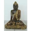 Buddha-thai-lótuszülésben/65 cm/bronz-arany-réz