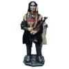 Indián-73 cm-békepipával