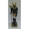 Anubisz-135cm/antik arany-fekete-fehér