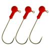 Twister fej piros 5/0 5gr 5db/cs