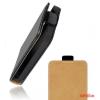 CELLECT Sony Xperia M5 Flip bőr tok, Fekete
