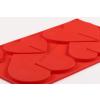 Szív alakú 3 D csokoládé forma