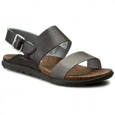 Merrell Szandál MERRELL - Around Town Backstrap J55540 Black