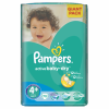 Pampers Active Baby-Dry 4+ Maxi+ pelenka, 70 db (4015400736325)