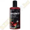 Joydivision WARMup melegítő hatású masszázsfolyadék - cseresznye - 150ml