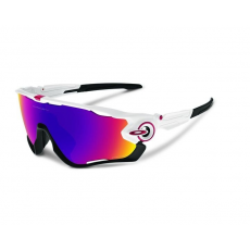 Oakley napszemüveg Jawbreaker Polished White Prizm Road